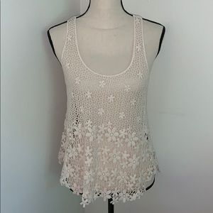 FANG Lace Tank Top.